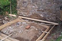 Betonový základ