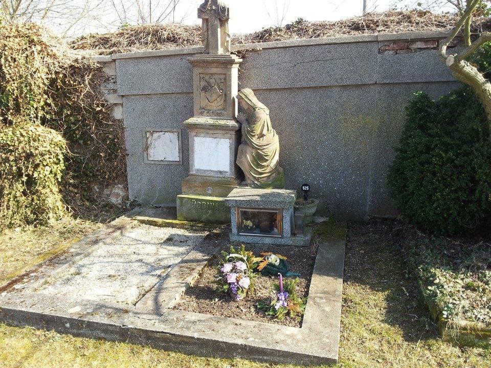 Původní stav hrobky