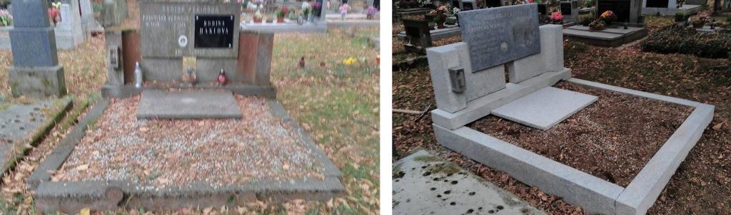 Broušení hrobu