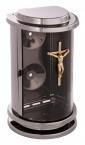 lampa-zavesna-cerne-zlato-kristus
